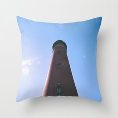 Florida Lighthouse Throw Pillow