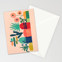 Plant mania Stationery Cards