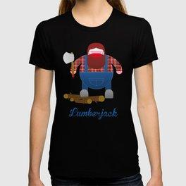 Woodcutter. T-shirt