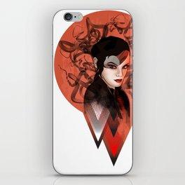 RED TRIANGLE iPhone Skin