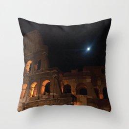 Rome Colosseum Throw Pillow