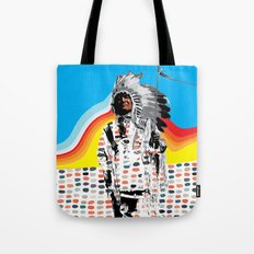 Standing Chief Tote Bag
