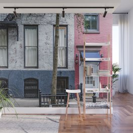 Old Greenwich Village apartment Wall Mural