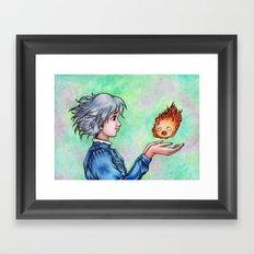 Heart in My Hands Framed Art Print