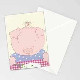 Not pea's again Stationery Cards