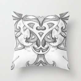Kissable Nip Throw Pillow