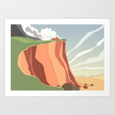 fairy landscape Art Print