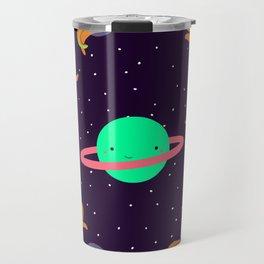 Space Octopuses! Travel Mug
