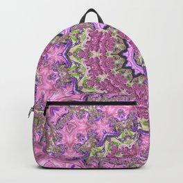 Vibrant Fractal Kaleidoscope Backpack