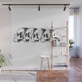 Skulls Wall Mural