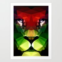 pride Art Prints featuring Pride by Three of the Possessed