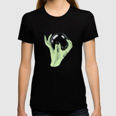 Crystallomancy Black SMALL Womens Fitted Tee