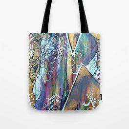 Gold Mountain Rose Tote Bag