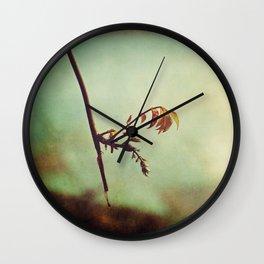 Cinnamon & Pistachios Wall Clock