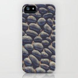 Black Pebble iPhone Case