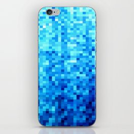Blue Mosaic iPhone Skin