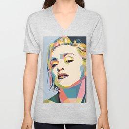 Madonna Unisex V-Neck