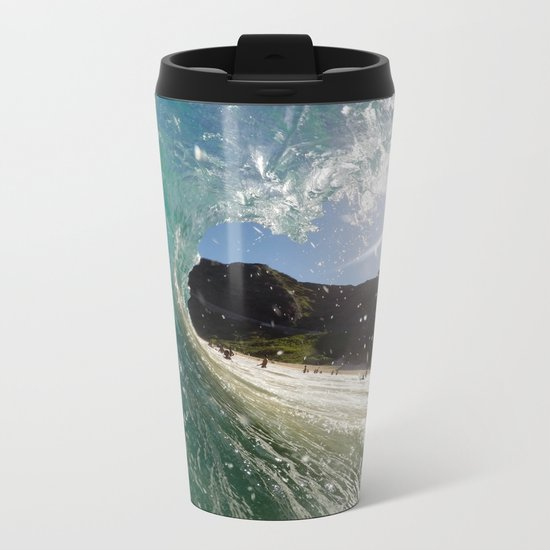 Surf Metal Travel Mug