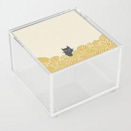 Cat and Yarn Acrylic Box