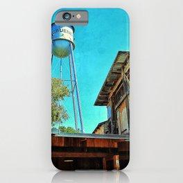 River Restaurant 1 iPhone Case