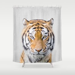 Tiger - Colorful Shower Curtain