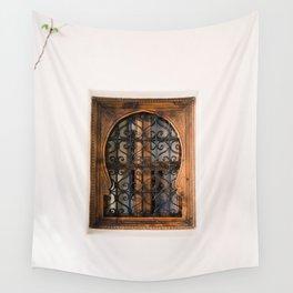 Arabic Moroccan window in Cordoba Spain | Fine art photography print Wall Tapestry