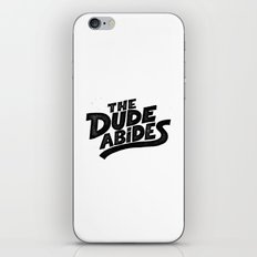 the Dude iPhone & iPod Skin