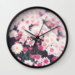 Spring Mornings Wall Clock