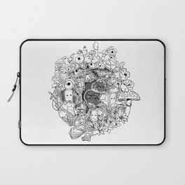 The princess and the Frog (3D papercut) Laptop Sleeve