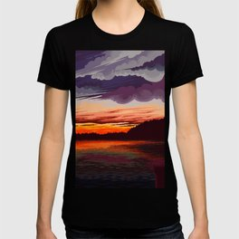 Horizon lake T-shirt