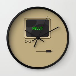 Retro Computer  Wall Clock