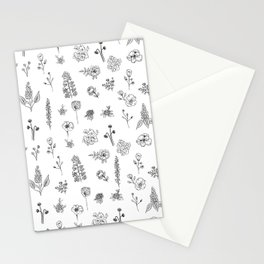 Wildflowers III Stationery Cards