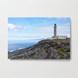 Ardnamurchan Lighthouse Metal Print