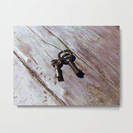 Keys to the Beach Metal Print