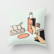 Cruel Joke Throw Pillow