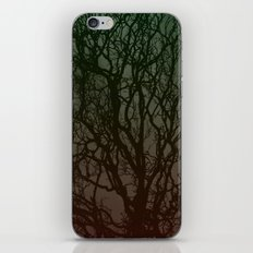 Ombre branches iPhone & iPod Skin