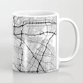 Minimal City Maps - Map Of Los Angeles, California, United States Coffee Mug