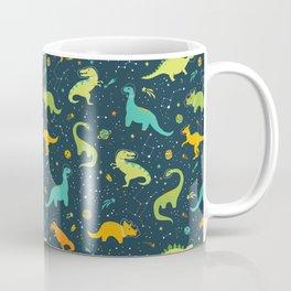 Dinosaur Space Adventure Coffee Mug