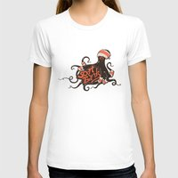 bands T-shirts featuring octopus sport bands by illusign