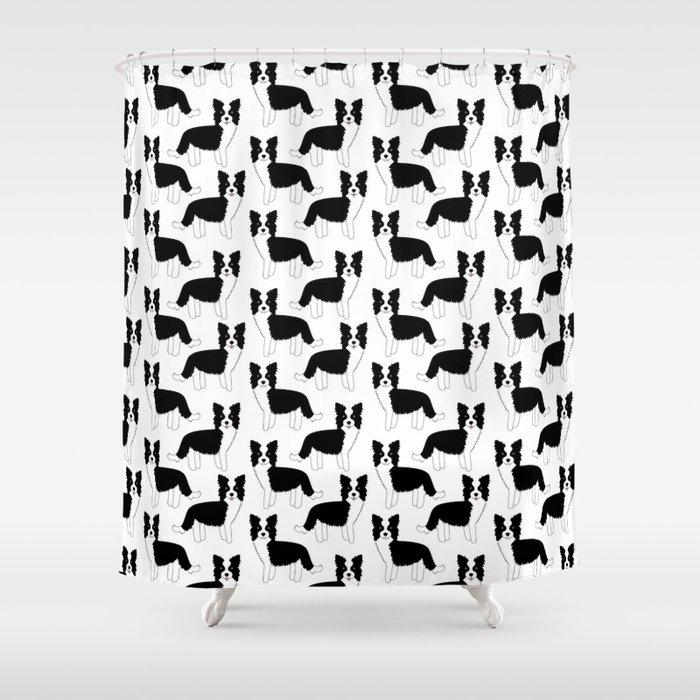 I love my Border Collie Shower Curtain