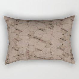 Funky Town (Taupical) Rectangular Pillow