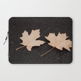 Maple Leaves Photography Print Laptop Sleeve
