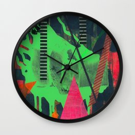 Navigating The Labyrinth Series 3 Wall Clock