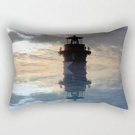 Lighthouse in the Sky Rectangular Pillow