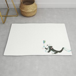 Cat and Mouse Rug