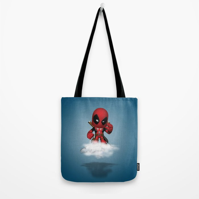I'm Diedpool Flying Tote Bag
