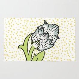 Bonita springs rugs society6 vintage flower bud rug mightylinksfo