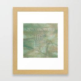 Dance Gavin Dance Framed Art Print