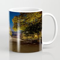 pittsburgh Mugs featuring PITTSBURGH FALL by Stephanie Michelle
