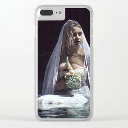 The unravelling of Ophelia Clear iPhone Case